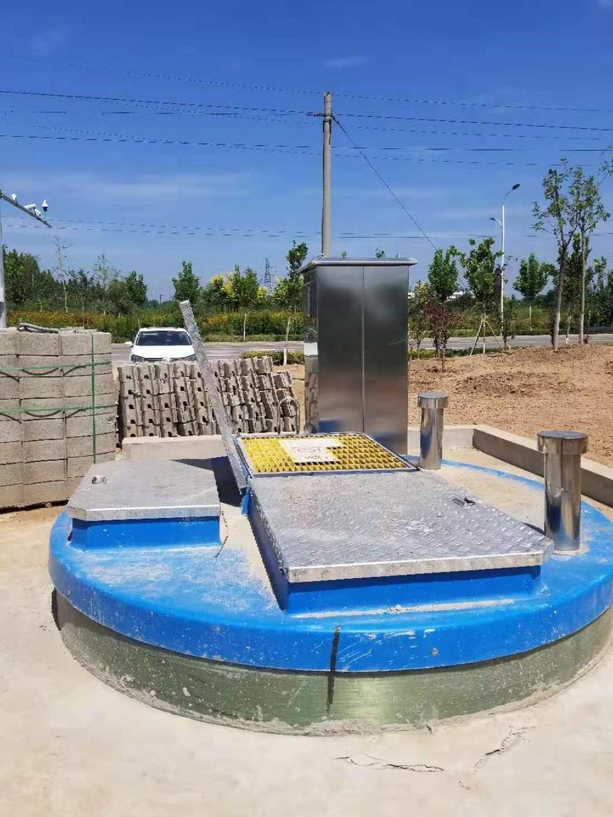 地mai式一体化预zhi泵站主要特dian