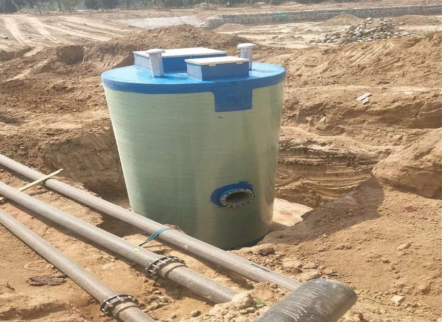 城镇污水处理一体化yu制泵zhan