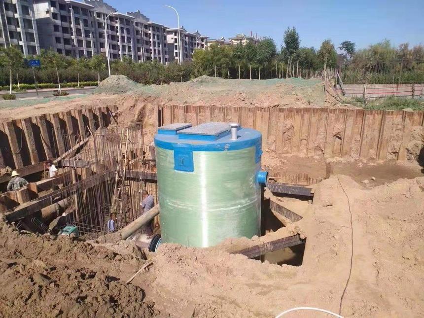 雨shuitisheng一体hua预制泵站chanpin特点