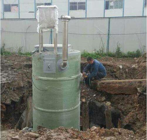 城市一体化污水提sheng泵zhan