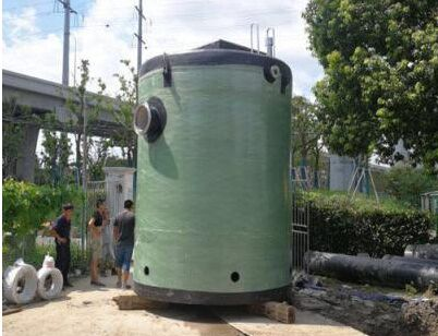 一体化泵站施工方案