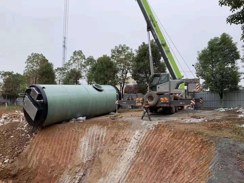 一体hua泵站工作过程中扬程确定